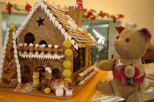 IMGP5552s 「くるみの樹」の安心のお菓子の家 ヘクセンハウス正面