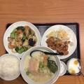 写真: 福来順八宝菜定食ご飯お替り自由だがすでに満腹