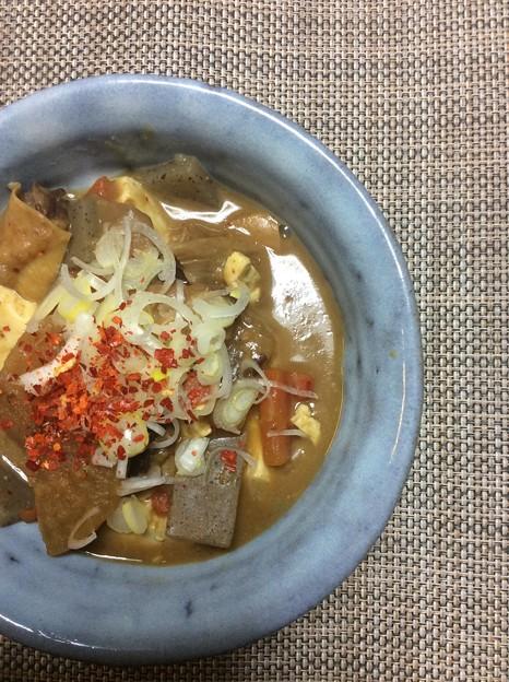 写真: 自作牛スジ豆腐