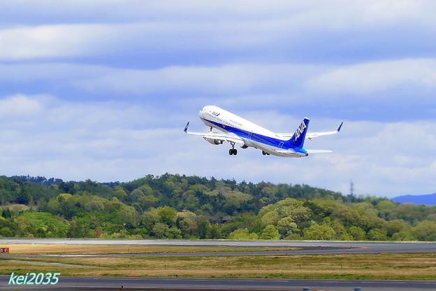 ANA 岡山空港