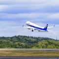 写真: ANA 岡山空港