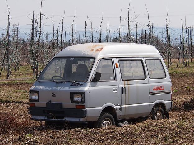 富士重工業 スバルサンバートライ4WDハイルーフTL