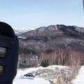 Photos: 山頂で気付くとスキー靴が崩壊 2