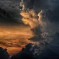 写真: 遠雷が聞こえる (2)