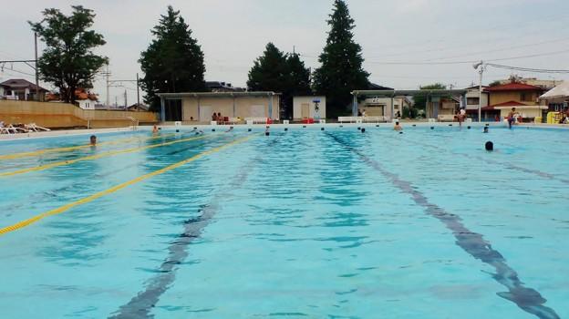 熱い日はプール (1)
