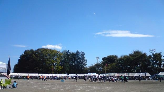 写真: 昨日は町の体育祭