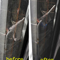 Photos: 窓掃除は雑巾2枚で