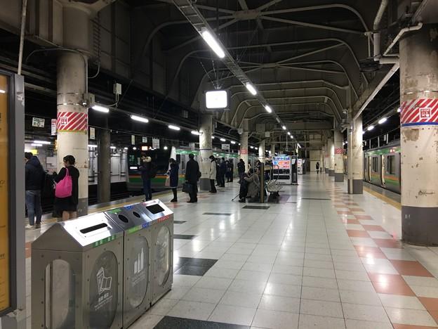上野駅14番ホーム (3)