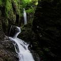 写真: 竜化の滝