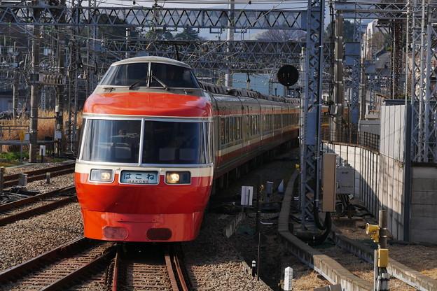 はこね小田原駅入線