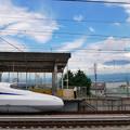 写真: N700S@新富士駅
