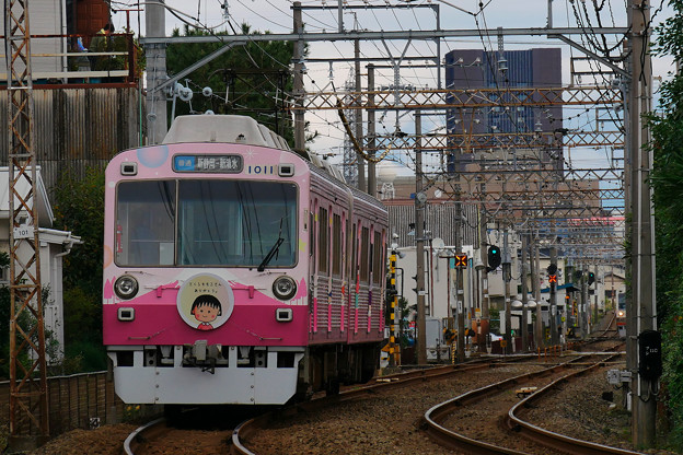 静岡鉄道 ちびまる子ちゃん