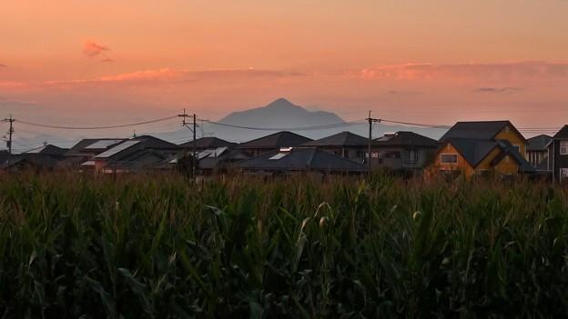 霧島山の夕焼け