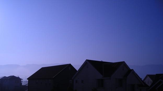 トワイライトな朝