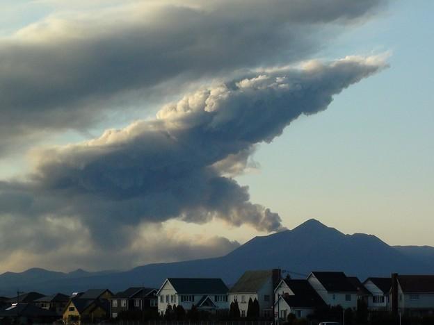 霧島山の噴煙