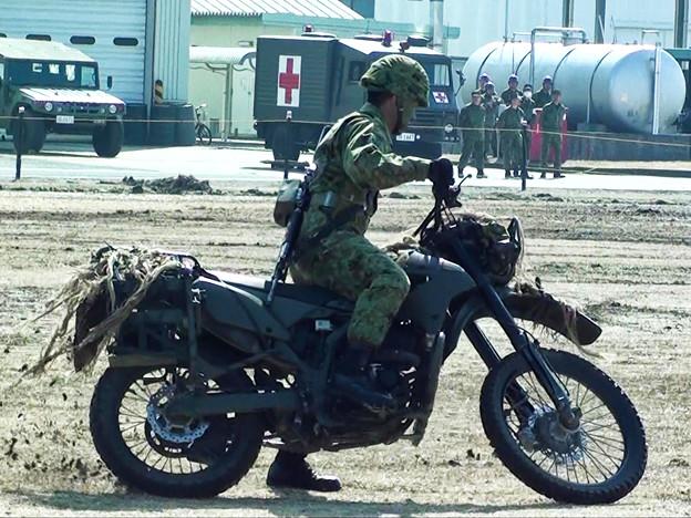 オートバイ偵察部隊