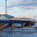 八戸線 馬淵川橋梁