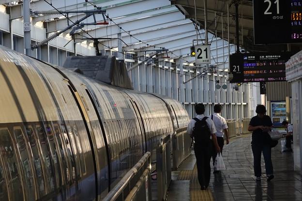 山陽新幹線 岡山駅