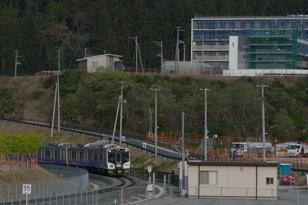 石巻線 女川駅