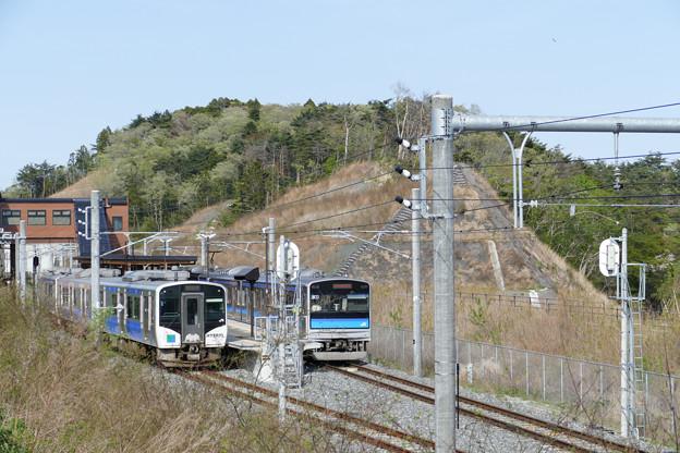 仙石線 野蒜駅