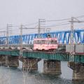 万葉線 庄川橋梁