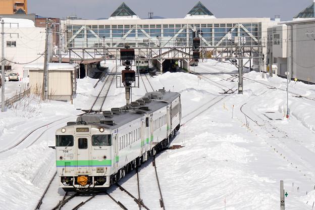 石北本線 北見駅