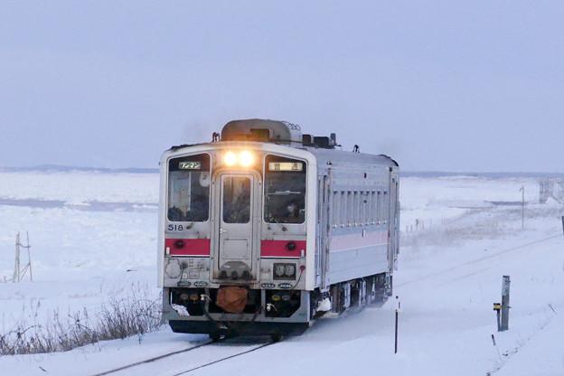 釧網本線 北浜駅~藻琴駅