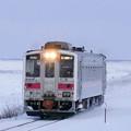 写真: 釧網本線 北浜駅~藻琴駅