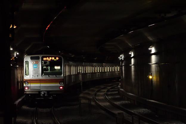 地下鉄の電車