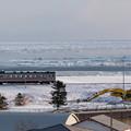 釧網本線 北浜駅付近