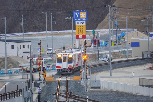 三陸鉄道 陸中山田駅