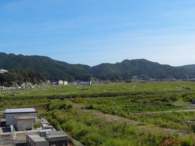大槌町 シーサイドタウンマストから(2012年)