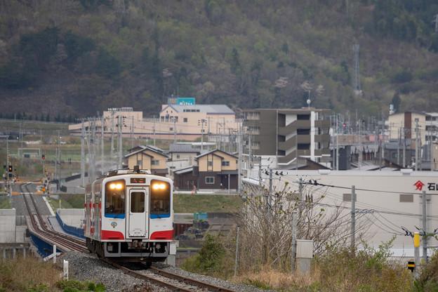 三陸鉄道 大槌駅付近(大槌川橋梁)