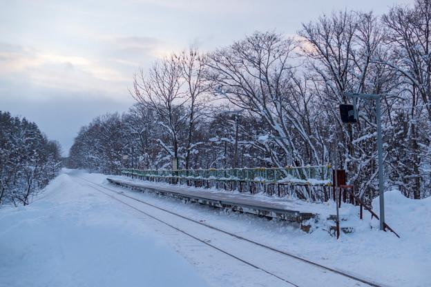 Photos: 札沼線 豊ヶ岡駅