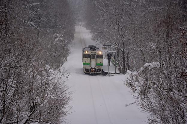 札沼線 豊ヶ岡駅