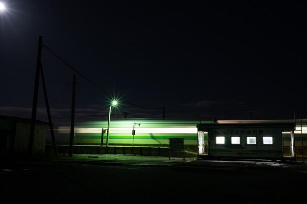 札沼線 石狩金沢駅