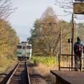 札沼線 札的駅