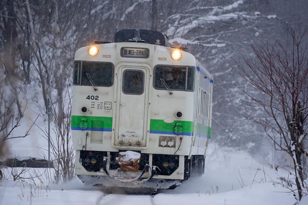 札沼線 晩生内駅~札的駅