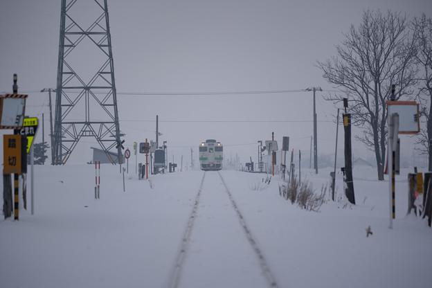 札沼線 下徳富駅