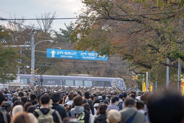 西武線 稲荷山公園駅
