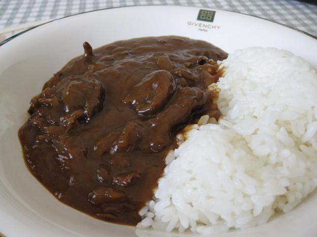 写真: エゾシカ肉のハッシュ