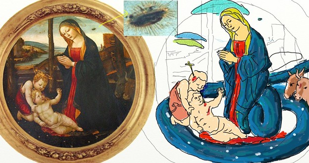 Photos: 聖母子と聖ジョバンニーニ