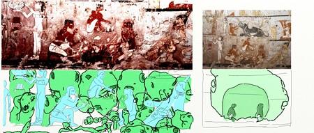 エジプト壁画3