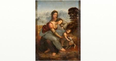 ダヴィンチ聖アンナと聖母子1