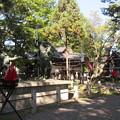 川中島古戦場(長野市会NPO運営 八幡原史跡公園)一騎討ちの像