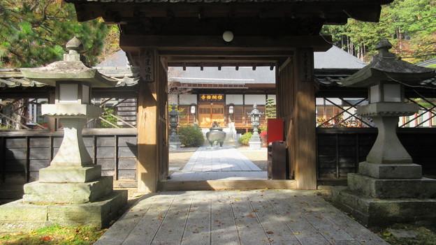 Photos: 信綱寺(上田市)山門