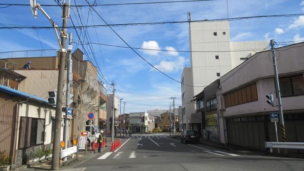 小田原古城 甲州道(鉤の手。神奈川県)