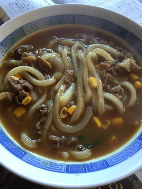 カレーうどん(ふみこ農園 具材付冷凍麺)