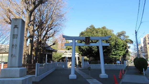 三囲稲荷神社(向島2丁目)一の鳥居