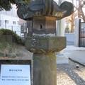 Photos: 三囲稲荷神社(向島2丁目)石造常夜燈